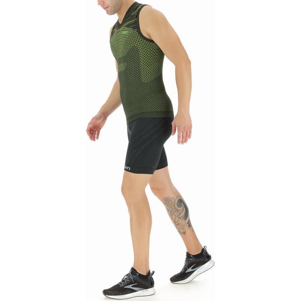 UYN Coolboost Sleeveless Running Shirt Men, jaune/noir