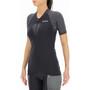 UYN Granfondo Kurzarm Biking Shirt Damen schwarz/grau