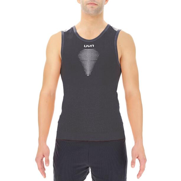 UYN Marathon Ärmelloses Shirt Herren schwarz