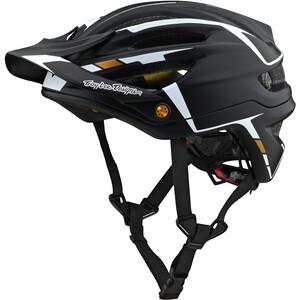 Troy Lee Designs A2 Mips Helm schwarz schwarz