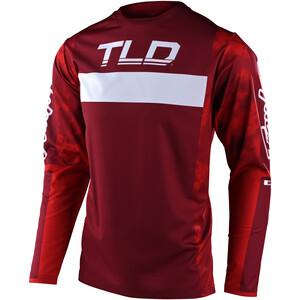 Troy Lee Designs Sprint LS Cykeltröja Herr röd röd