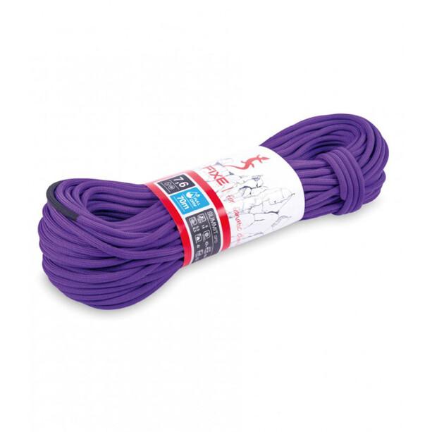 Fixe Summit Fulldry Rope 7,6mm x 70m, violetti