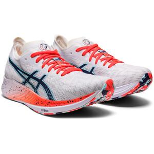 asics Magic Speed Shoes Women white/thunder blue white/thunder blue