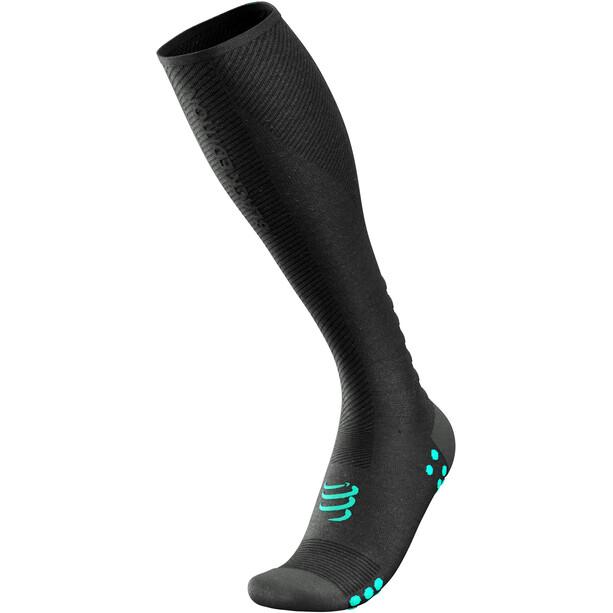 Compressport Oxygen Full Socks Black Edition 2021 schwarz