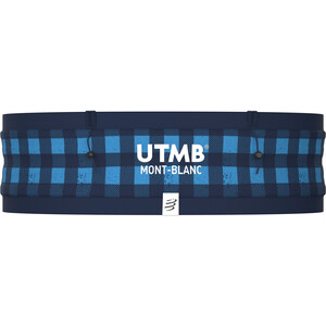 Compressport PRO Free Gürtel UTMB 2021 blau blau