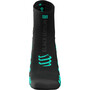 Compressport Pro Racing v3.0 Run High Socks Black Edition 2021 svart