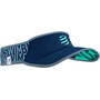 Compressport Ultralight Visor Born To SwimBikeRun 2021, bleu