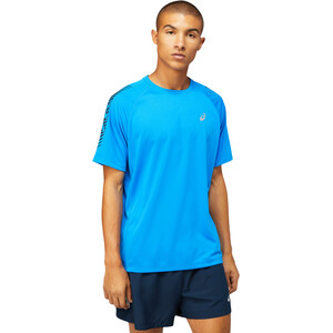 asics Icon SS Top Men electric blue/french blue electric blue/french blue