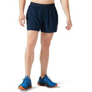 """asics Road 5"""" Shorts Herren blau blau"""