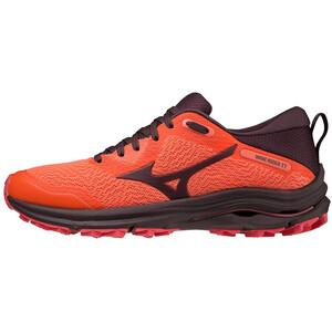 Mizuno Wave Rider TT Schuhe Damen orange/rot orange/rot