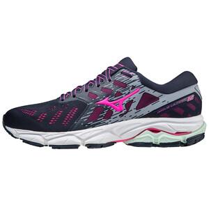 Mizuno Wave Ultima 12 Schuhe Damen blau/pink blau/pink
