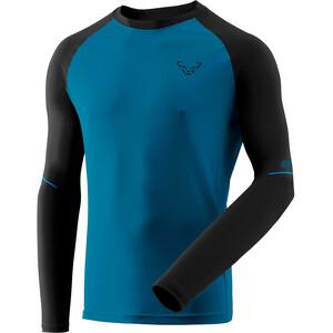 Dynafit Alpine Pro LS T-skjorte Herre Blå/Svart Blå/Svart