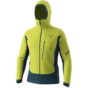 Dynafit Free Alpha Direct Jacket Men, verde/Azul petróleo verde/Azul petróleo