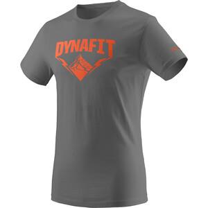 Dynafit Graphic Cotton Kurzarm T-Shirt Herren grau grau