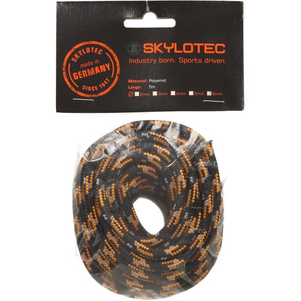Skylotec Cord 6.0 5m schwarz/orange