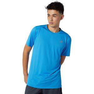 New Balance Accelerate Short Sleeve Herren blau blau