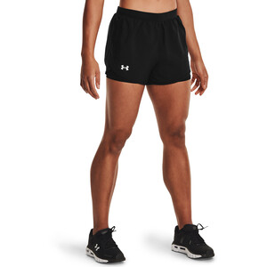 Under Armour Fly By 2.0 2-In-1 Shorts Damen black-black black-black