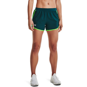 Under Armour Fly By 2.0 Shorts Damen dark cyan-cos dark cyan-cos