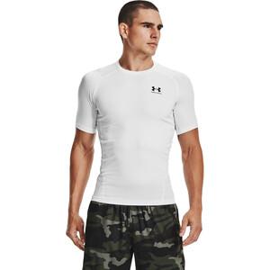 Under Armour HeatGear Armour Kurzarm Shirt Herren white-black white-black
