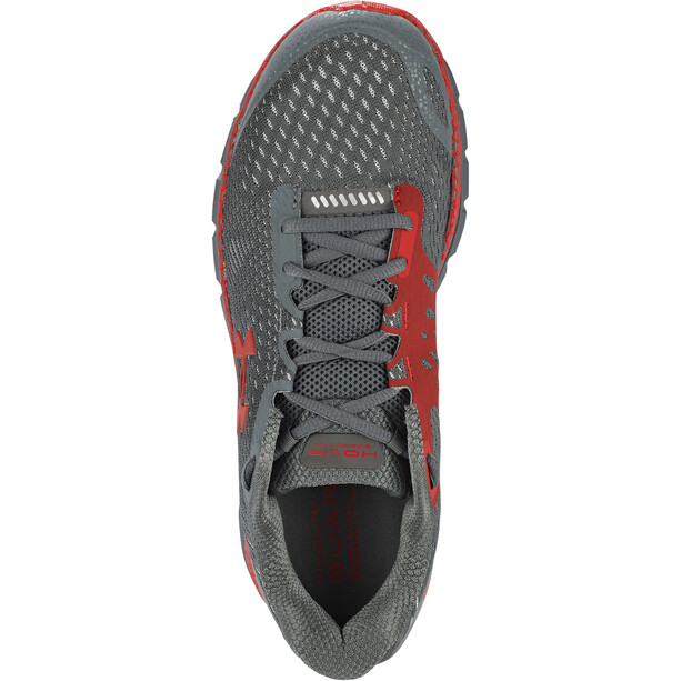 Under Armour Hovr Guardian 2 Running Shoes Men, gris/rouge