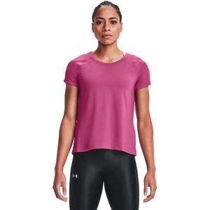 Under Armour Isochill Run 200 Short Sleeve Shirt Damen pink quartz-pink quartz pink quartz-pink quartz