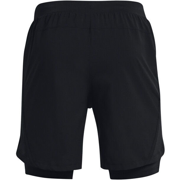 Under Armour Launch SW 2-In-1 7'' Shorts Herren black-black