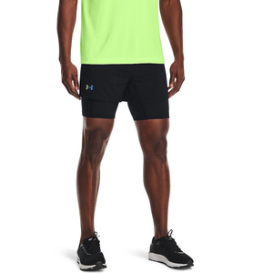 Under Armour Rush Run 2-in-1 Shorts Herren black-black black-black