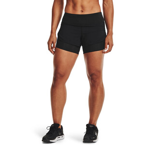 Under Armour Rush Run 2-in-1 Shorts Damen black-black black-black