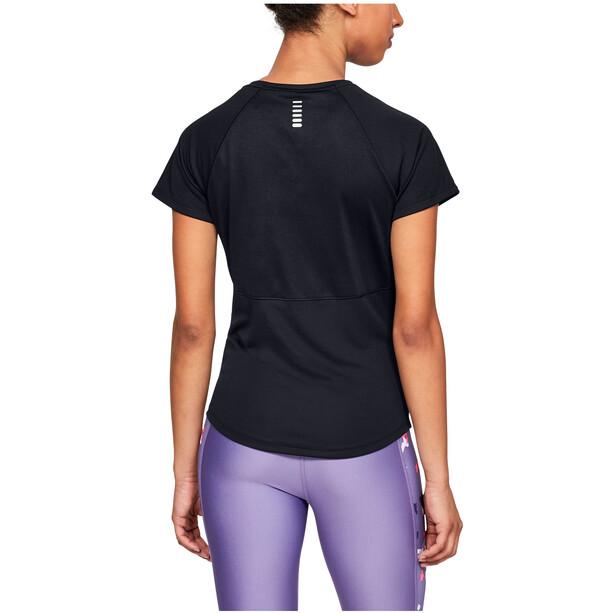 Under Armour Speed Stride Short Sleeve Shirt Damen black-black
