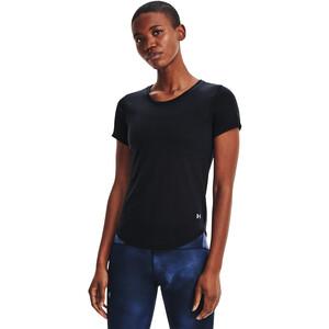 Under Armour Streaker Short Sleeve Shirt Damen black-black black-black