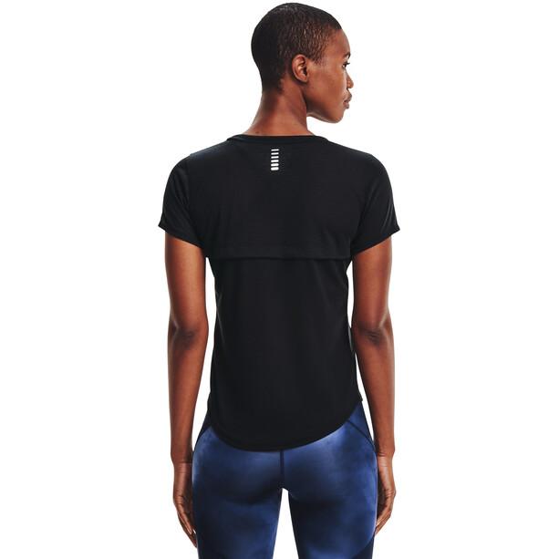Under Armour Streaker Short Sleeve Shirt Women, noir
