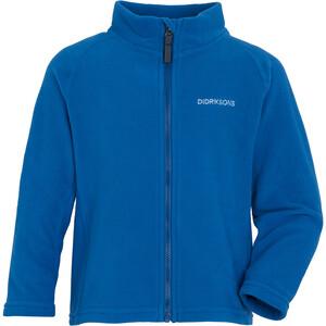 DIDRIKSONS Monte 6 Full Zip Sweat Jacket Kids, sininen sininen