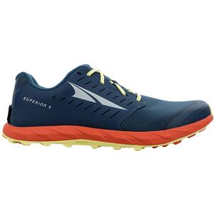Altra Superior 5 Running Shoes Men, bleu/orange bleu/orange