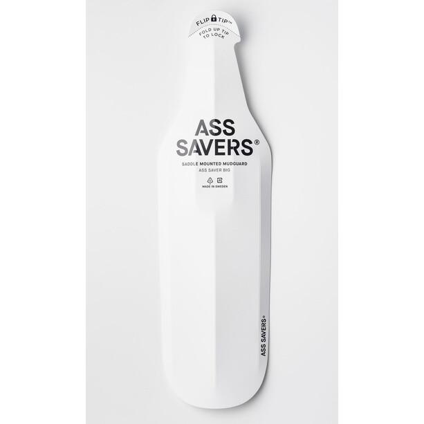 Ass Savers Spritzschutz Big für Sattel white