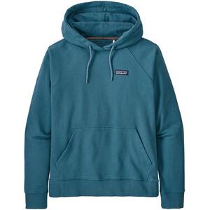 Patagonia P-6 Label Organic Hoody Damen blau blau