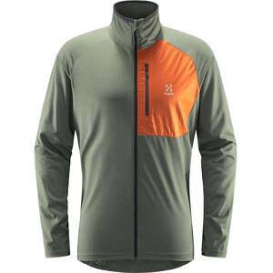 Haglöfs Mirre Jacket Men grön/orange grön/orange