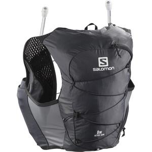 Salomon Active Skin 8 Backpack Set Women svart svart