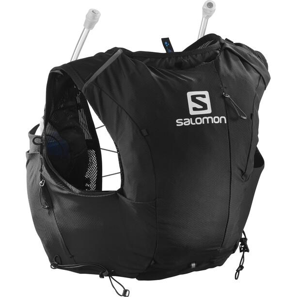 Salomon Adv Skin 8 Backpack Set Women black/ebony
