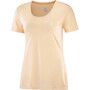 Salomon Agile SS Tee Women almond cream/nude/heather