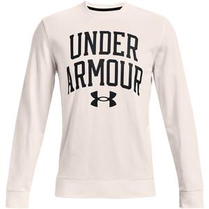 Under Armour Rival Terry Crew Long Sleeve Shirt Men onyx white onyx white