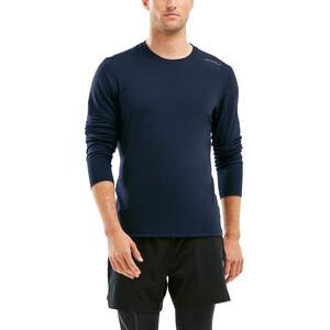 2XU Heat Longsleeve Shirt Men, sort sort