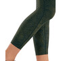 2XU Print Mid-Rise Compression 7/8 Tights Women, reserve mesh olive/black