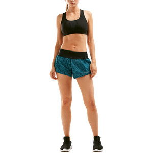 "2XU XVENT Free 4"" Shorts Damen rainspot/oceanteal rainspot/oceanteal"