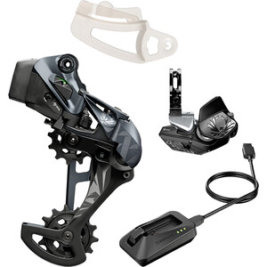 SRAM XX1 Eagle AXS Upgrade Kit inkl. Rocker Paddle Controller schwarz schwarz