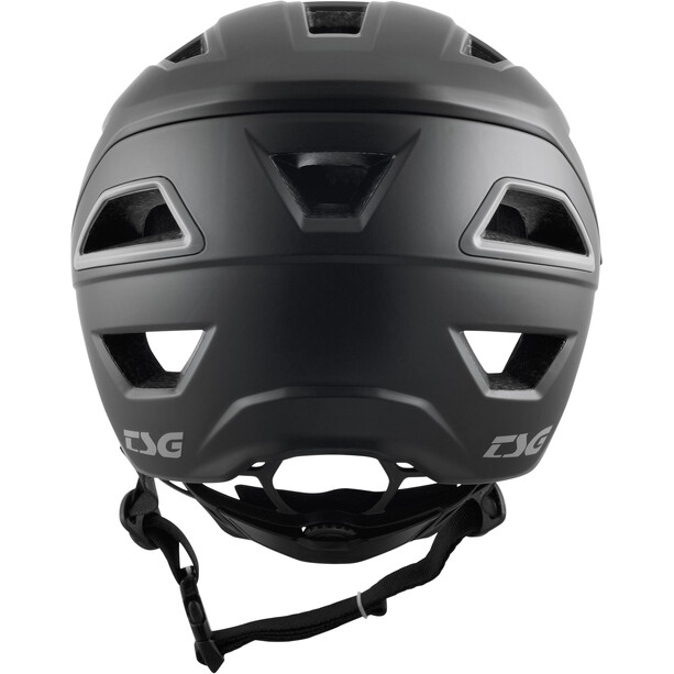 TSG Chatter Solid Color Helmet, satin black