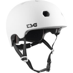 TSG Meta Solid Color Helm weiß weiß