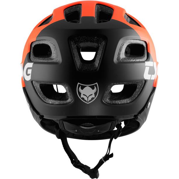 TSG Seek FR Solid Color Hjelm, grå/orange