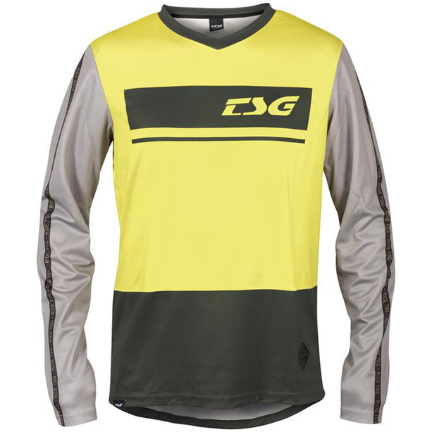 TSG Skillz Langarmtrikot schwarz/gelb
