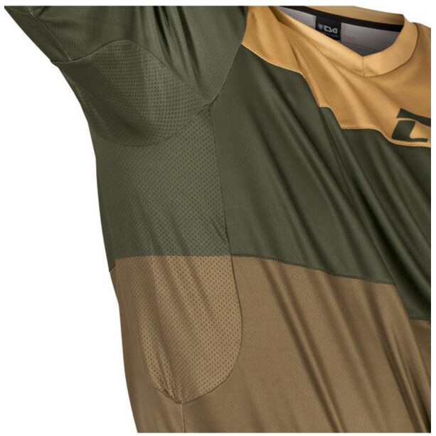 TSG Swamp Shortsleeve Jersey beige/oliv