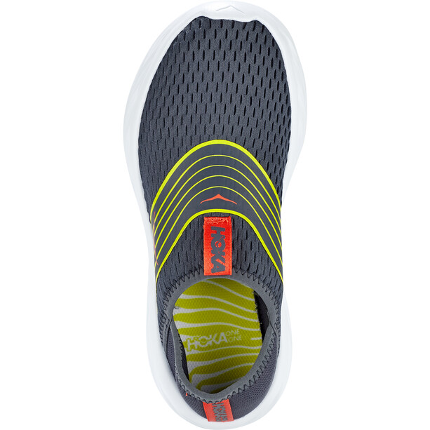 Hoka One One Ora Recovery Shoes Men, ombre blue/citrus